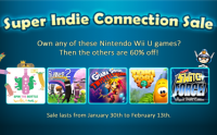 Super Indie Connection Sale!