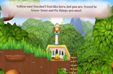 Telepathic frogs in Toki Tori 2+ for PS4