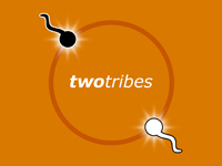 Two Tribes Logo Spermatozoid